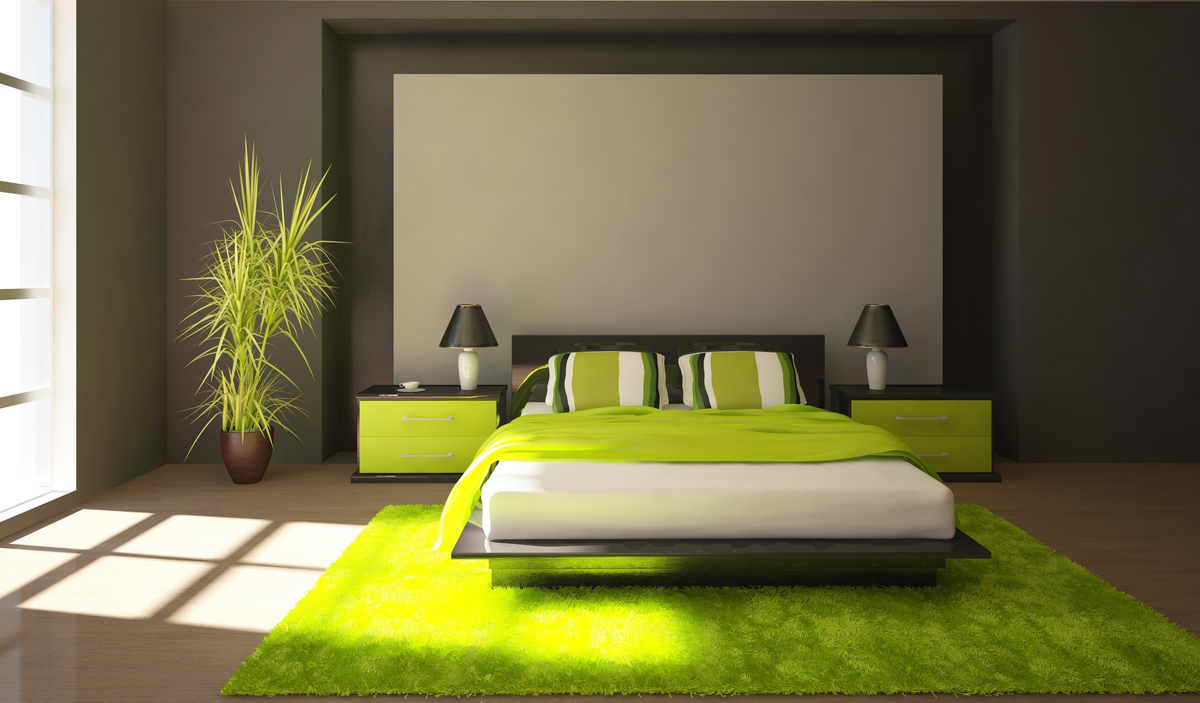 Stunning Decorer Chambre Adulte Vert Anis Contemporary - House ...